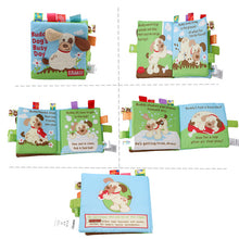Load image into Gallery viewer, Educational  Infant  Early Development Cloth Books Learning  Unfolding