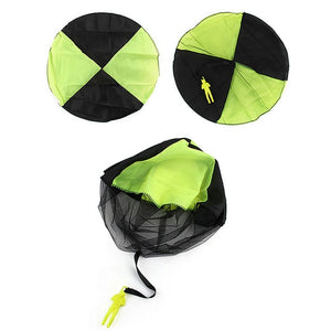 1pcs Hand Throwing kids Mini Play Parachute Outdoor Game