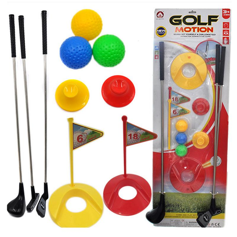 Outdoor Mini Golf Set For Kids Learning Active