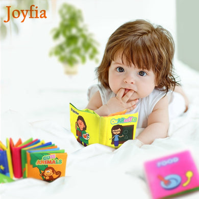 Colorful Cartoon Cloth Book Soft Baby Learning Developing