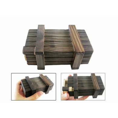 Creative Wooden Puzzles Magic Secret Box  Drawer Compartment