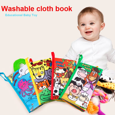 New Infant Early Development Cloth Books Learning  Activity