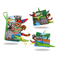 Load image into Gallery viewer, New Animals Tail Cloth Books 3D  Reading