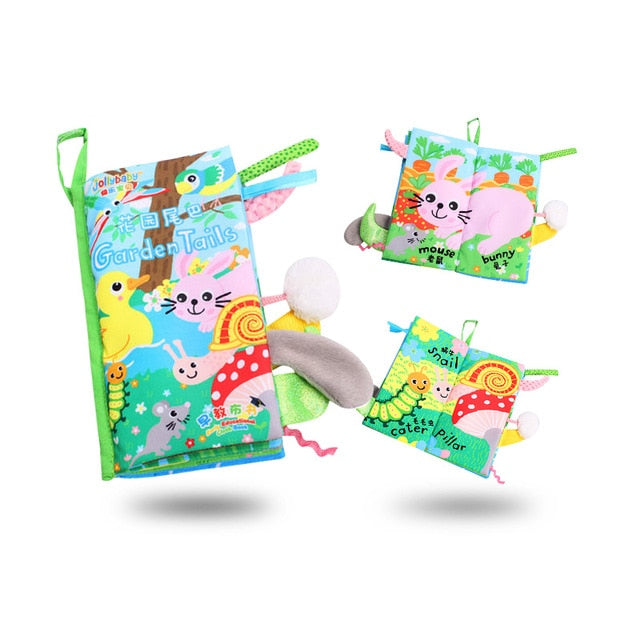New Animals Tail Cloth Books 3D  Reading