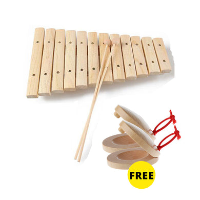 Freeship fine  childrens natural  xylophone kids music develop