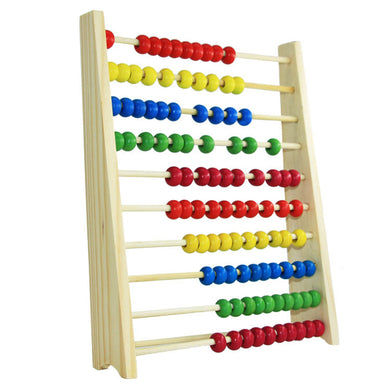 Child Wooden Abacus Toys Early Math Educational Learning