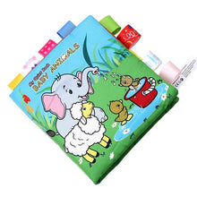 Load image into Gallery viewer, 2019 New Infant Cloth Book Cartoon Pattern  Learning