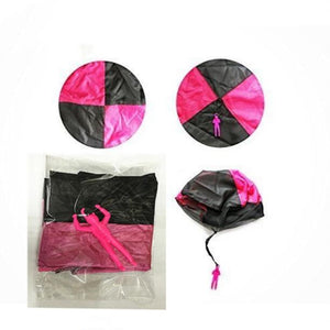 1PCS Hand Throwing Mini Play Parachute Outdoor Games