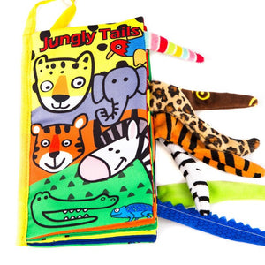 Infant Toys  Cloth Book Early Learning with Animals