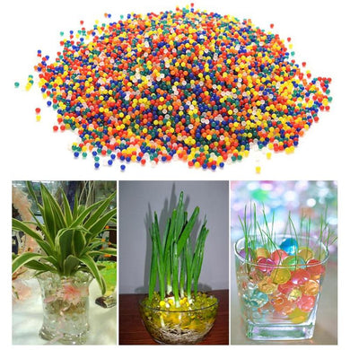 10000pcs Crystal Water Absorbing Balls Mixcolored Outdoor Play