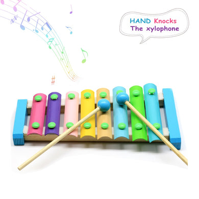 8Notes  Baby Musical Toys Xylophone  Wooden Instrument
