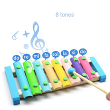 Load image into Gallery viewer, 8Notes  Baby Musical Toys Xylophone  Wooden Instrument
