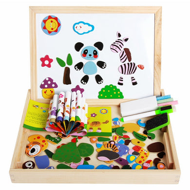 Drawing Writing Board Magnetic Board Puzzle Development Intelligence