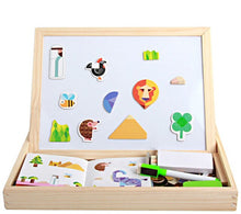 Load image into Gallery viewer, Drawing Writing Board Magnetic Board Puzzle Development Intelligence