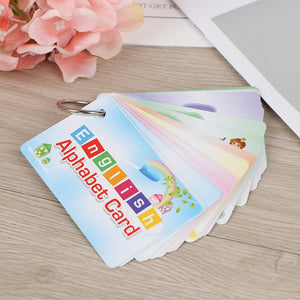 26 Letter  Flash Card  Montessori Early Development Learning