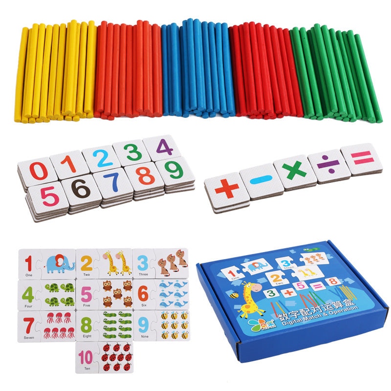 baby early montessori toys mathematical develop math