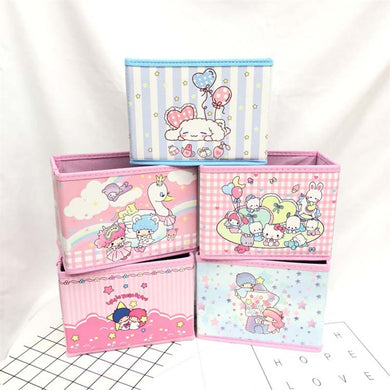 Cartoon Non-Woven Storage bins kid   Foldable Storage Box