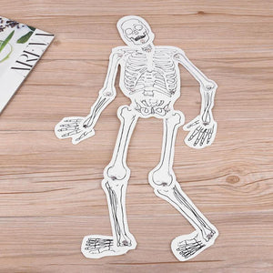 Kids Puzzle Toy DIY Human Skeleton Model Toddlers Learning Grasping Developing Puzzle Toy Children DIY Craft Toys Education Toys