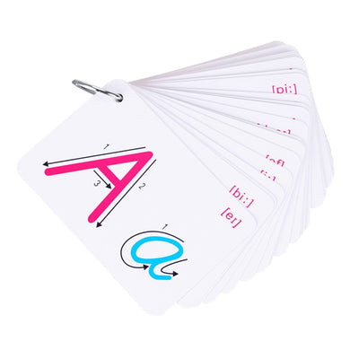 26 Letter  Flash Card  Educational  Montessori Early Development