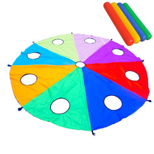 Load image into Gallery viewer, 3/4/5 M Diameter Rainbow Umbrella Educational Toy