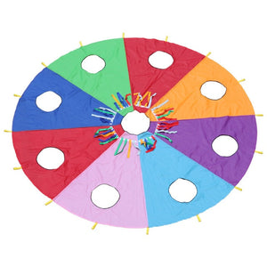 3/4/5 M Diameter Rainbow Umbrella Educational Toy