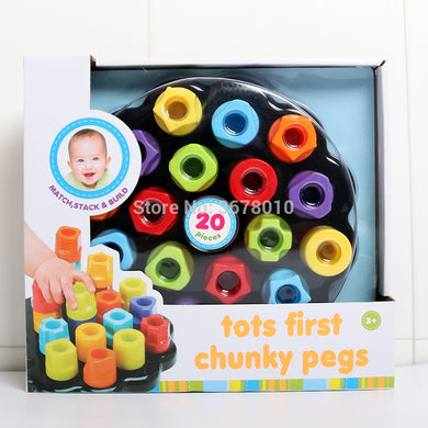 Tots First Chunky Pegs,Learning to Match, stack, build and sort