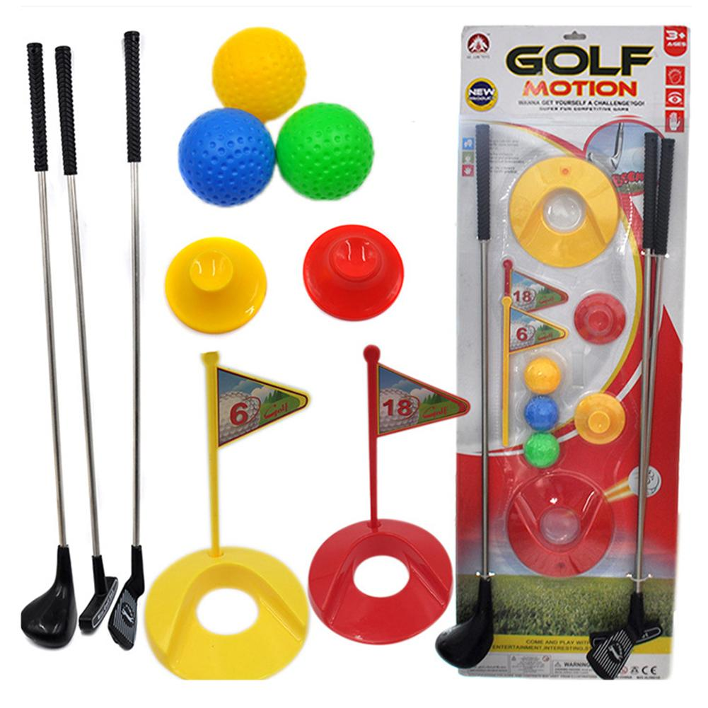 Golf  Set  Kids Learning Active  Colorful Development Outdoor