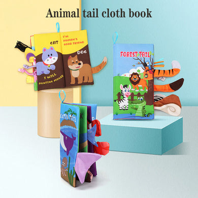 Children's Cloth Books My First Funny Cartoon Animal