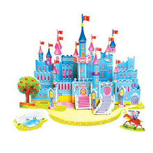 Load image into Gallery viewer, 3D DIY Puzzle Jigsaw Model Castle Aircraft  Develop
