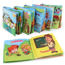Load image into Gallery viewer, Kids Early Development Cloth Books Learning Education Unfolding Activity Books Animal Tails Style Cloth Book Baby Toys Infant