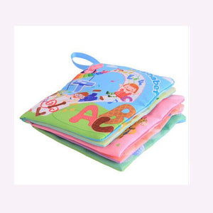 Kids Early Development Cloth Books Learning Education Unfolding Activity Books Animal Tails Style Cloth Book Baby Toys Infant