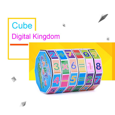 Mini Numbers Magic Cube Kids Learning Intellectual Development