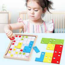 Load image into Gallery viewer, Wooden Puzzle for  Brain Development  Training Puzzle Board