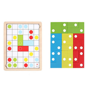 Wooden Puzzle for  Brain Development  Training Puzzle Board
