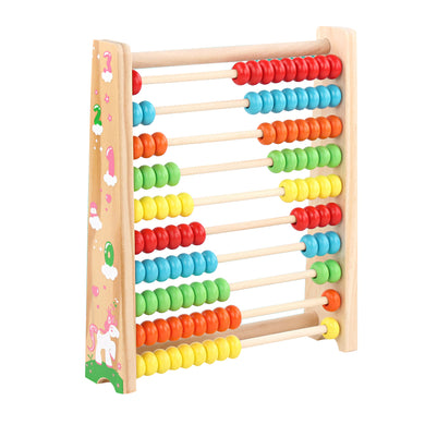 Wooden Abacus 100 Beads Early Math  Learning  Development