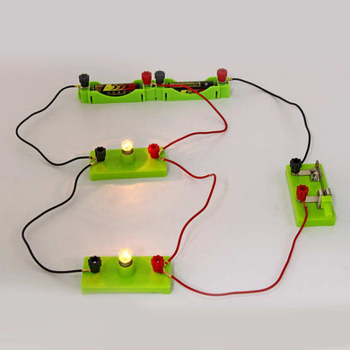 Kids School Science  Electric Circuit Educational  Light Discovery