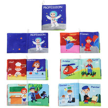 Load image into Gallery viewer, New Arrival Baby Soft Cloth Books  Intelligence Development