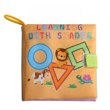 Load image into Gallery viewer, Baby Cloth Book  Early Cognitive Development  Sound  Resources