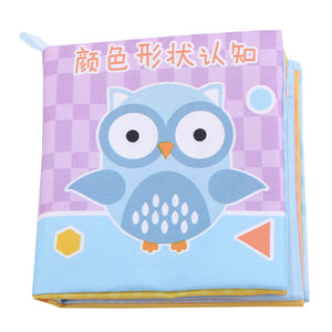 Baby   Soft Cloth Books Early Learning Develop  Reading