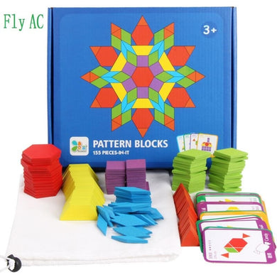 155 PCS/SET Creative Puzzle Games Educational  Development