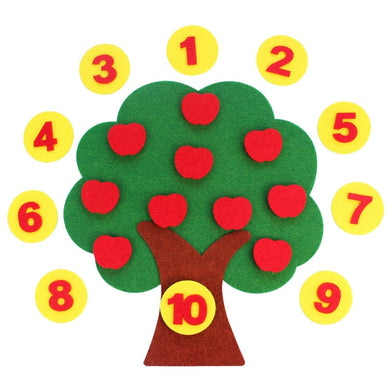 Montessori Math  Apple Trees Teach Kids  Early Learning