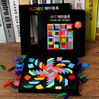 Magnetic Right Brain Development Training Early Learning Puzzle