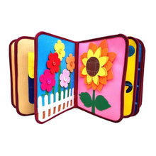 Load image into Gallery viewer, Baby Cloth Book Intelligence Development Educational  0-12 Months