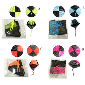 Hand Throwing Mini Soldier Parachute Outdoor Sport Toy
