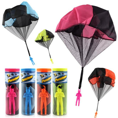 1pcs Throwing kids Mini Light Play Parachute Outdoor