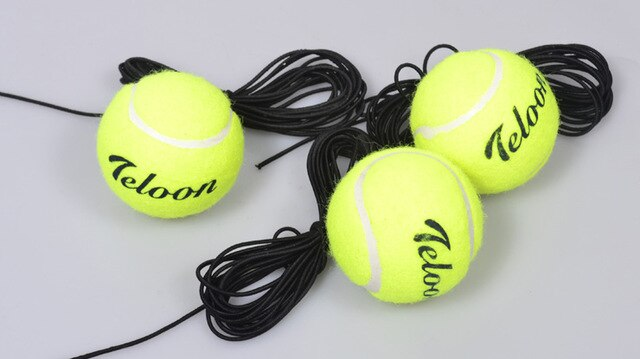 High Quality Tennis Balls Training with Elastic Rope