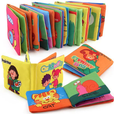 Books Cloth Book Infant  Early Development