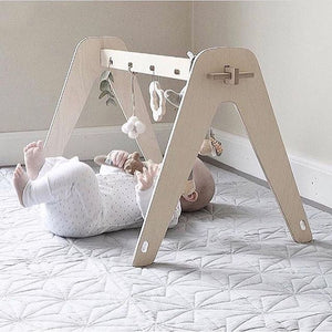 Wood Baby Activity Nordic Baby Sensory Develop Gym