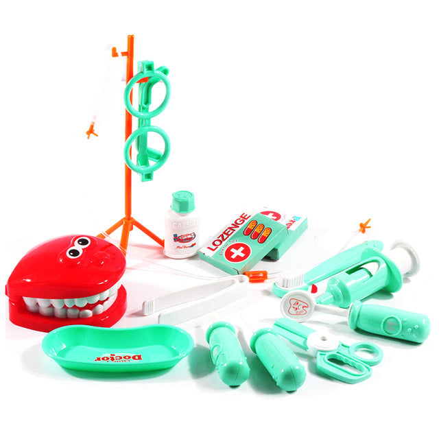 15Pcs  Pretend Play Doctor Simulation Dentist Toddler  Development