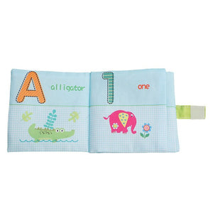 Infant  Early Development Cognitive Learning Animal Cloth Books